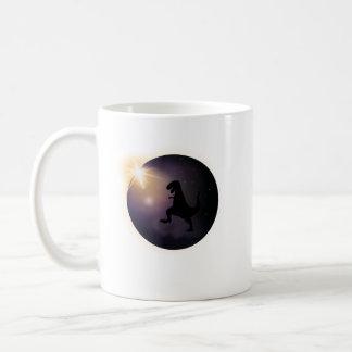 Total Solar Eclipse August2017 Funny dinosaur TRex Coffee Mug