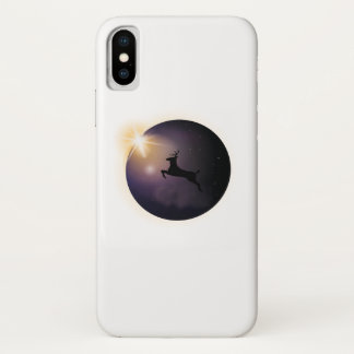 Total Solar Eclipse August 2017  Deer iPhone X Case