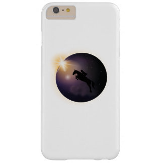 Total Solar Eclipse August 2017  Funny horse Barely There iPhone 6 Plus Case