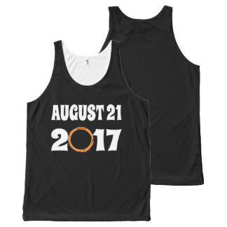Total Solar Eclipse August 21 2017 All-Over-Print Tank Top