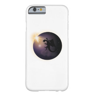 Total Solar Eclipse August 21 2017 Funny dragon Barely There iPhone 6 Case