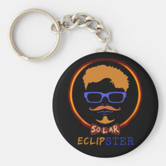 Total Solar Eclipse August 21 2017 Funny Hipster Keychain