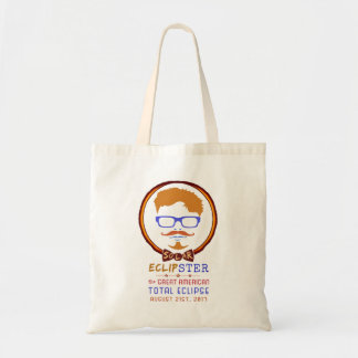 Total Solar Eclipse August 21 2017 Funny Hipster Tote Bag