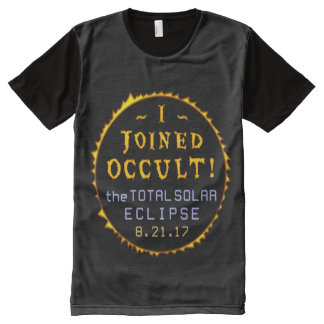 Total Solar Eclipse August 21 2017 Funny Occult All-Over-Print T-Shirt