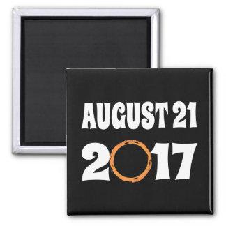 Total Solar Eclipse August 21 2017 Magnet