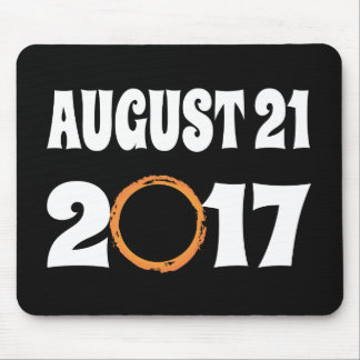 Total Solar Eclipse August 21 2017 Mouse Pad