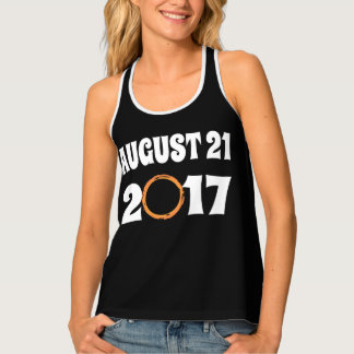 Total Solar Eclipse August 21 2017 Tank Top