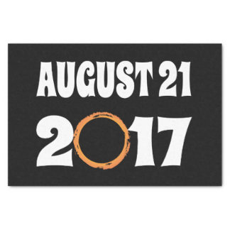 Total Solar Eclipse August 21 2017 Tissue Paper