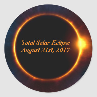 Total Solar Eclipse August 21st, 2017 sticker