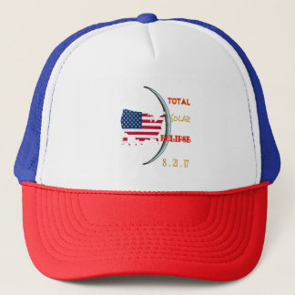 Total Solar Eclipse Baseball Cap Aug 21st. USA