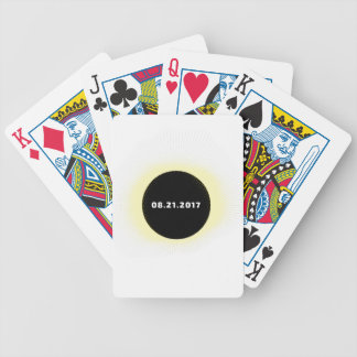 Total Solar Eclipse Bicycle Playing Cards