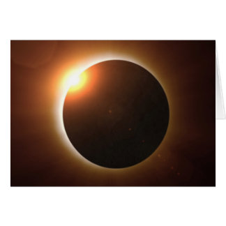 Total Solar Eclipse Card