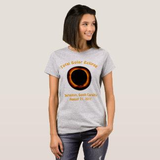 Total Solar Eclipse (  Charleston, South Carolina) T-Shirt