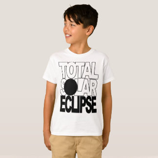Total Solar Eclipse Cool Kids  Series T-Shirt