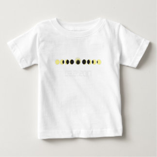 Total Solar Eclipse Cycle Baby T-Shirt