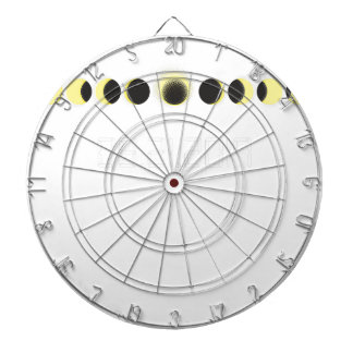Total Solar Eclipse Cycle Dartboard