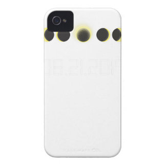 Total Solar Eclipse Cycle iPhone 4 Case