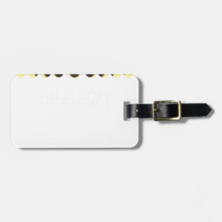 Total Solar Eclipse Cycle Luggage Tag