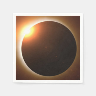 Total Solar Eclipse Disposable Napkins