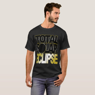 Total Solar Eclipse Gold Variant T-Shirt