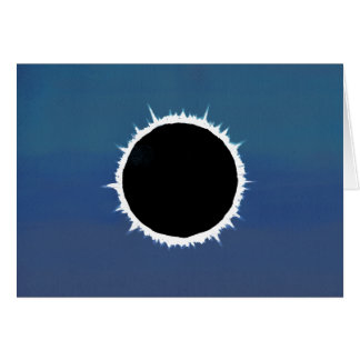Total Solar Eclipse - Greeting Card