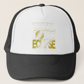 Total Solar Eclipse Hat Gold Series