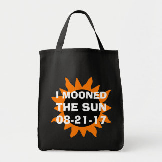 Total Solar Eclipse I Mooned the Sun Tote Bag