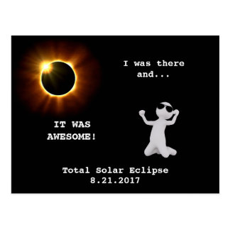 Total Solar Eclipse - I was there! - Postcard