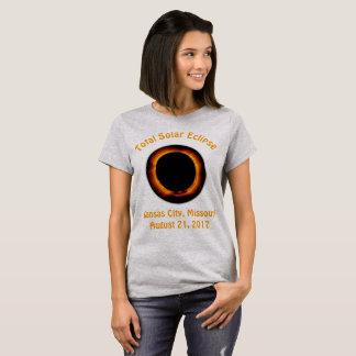 Total Solar Eclipse (  Kansas City, Missouri ) T-Shirt