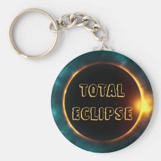 TOTAL SOLAR ECLIPSE KEYCHAIN