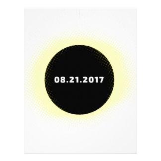 Total Solar Eclipse Letterhead