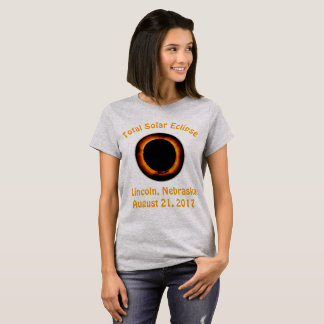 Total Solar Eclipse (  Lincoln, Nebraska ) T-Shirt