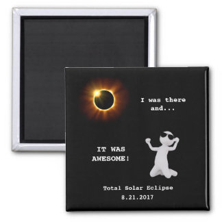 Total Solar Eclipse - Magnet Template