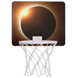 Total Solar Eclipse Mini Basketball Hoop