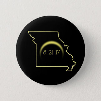 Total Solar Eclipse Missouri 2017 2 Inch Round Button