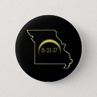 Total Solar Eclipse Missouri 2017 2 Inch Round Button