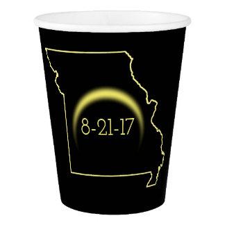 Total Solar Eclipse Missouri 2017 Paper Cup
