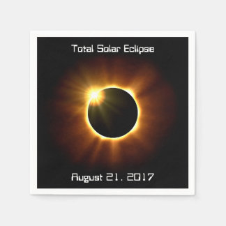 Total Solar Eclipse - Napkins