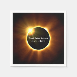 Total Solar Eclipse - Napkins Disposable Napkin