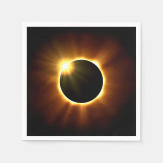 Total Solar Eclipse - Napkins Disposable Napkins