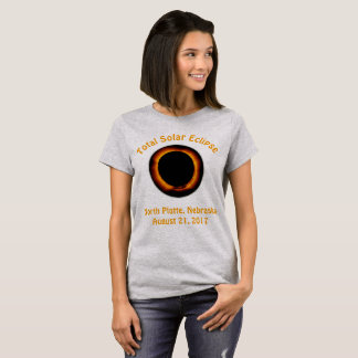 Total Solar Eclipse (  North Platte, Nebraska ) T-Shirt