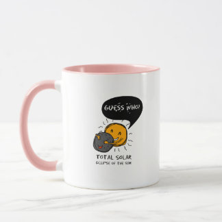 Total Solar Eclipse of the Sun  Guess Who? Kids Mug