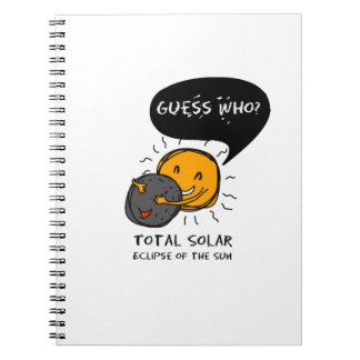 Total Solar Eclipse of the Sun  Guess Who? Kids Notebook