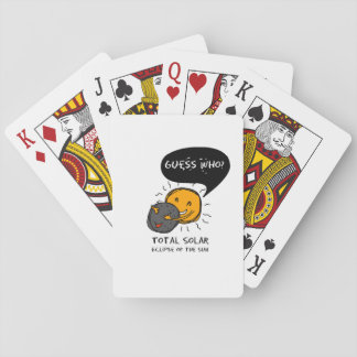 Total Solar Eclipse of the Sun  Guess Who? Kids Playing Cards