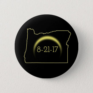 Total Solar Eclipse Oregon 2017 2 Inch Round Button