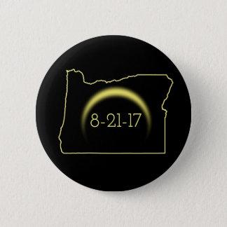 Total Solar Eclipse Oregon 2017 2 Inch Round Button