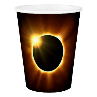 Total Solar Eclipse -  Paper Cups