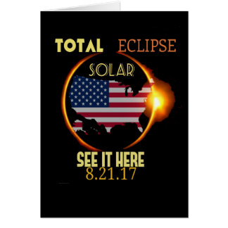 Total Solar Eclipse Party Invitation Cards
