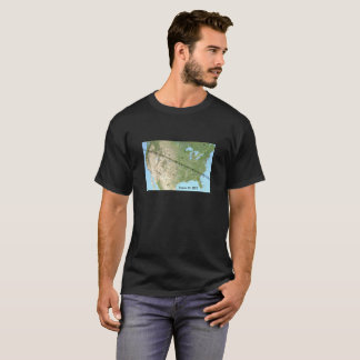 Total Solar Eclipse Path Map 2017 T-Shirt