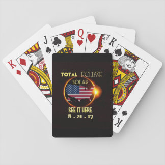 Total Solar Eclipse Playing Card Deck